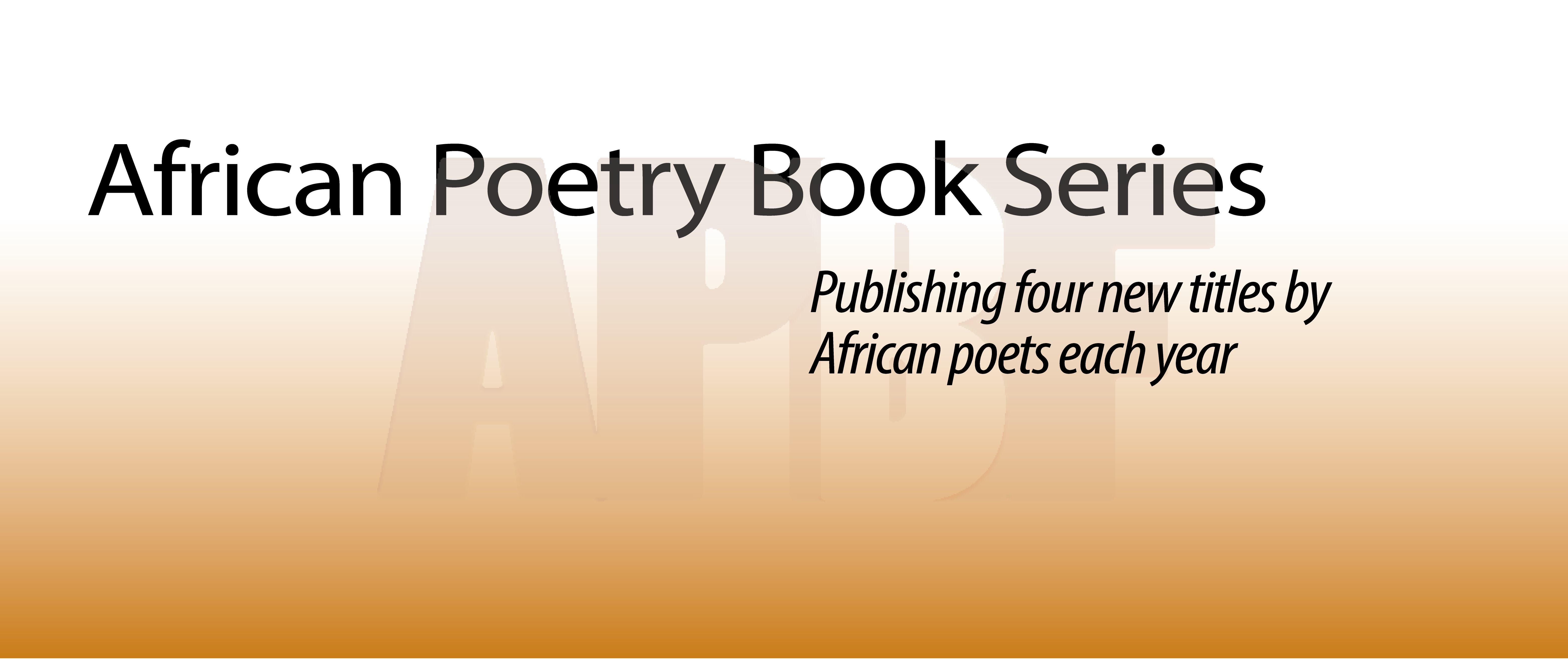 African Poetry Book Series