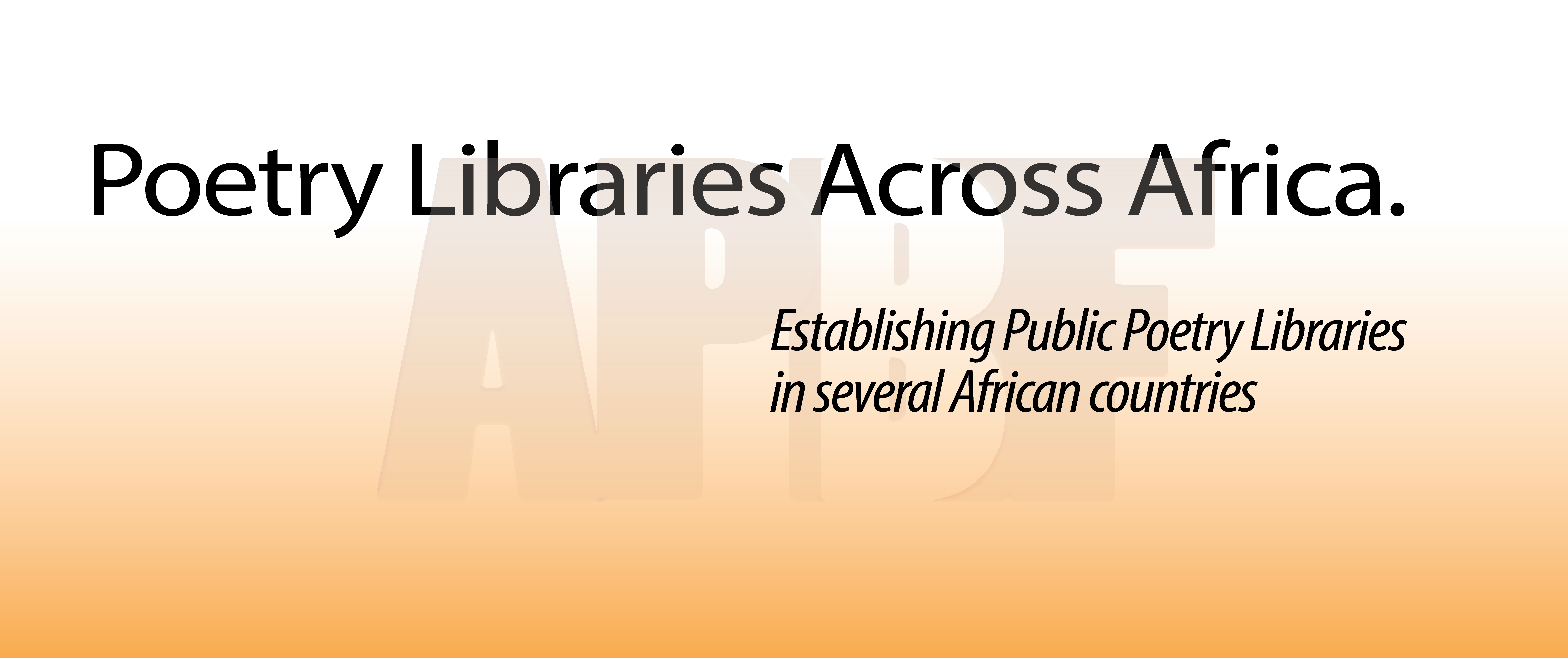 African Poetry Libraries