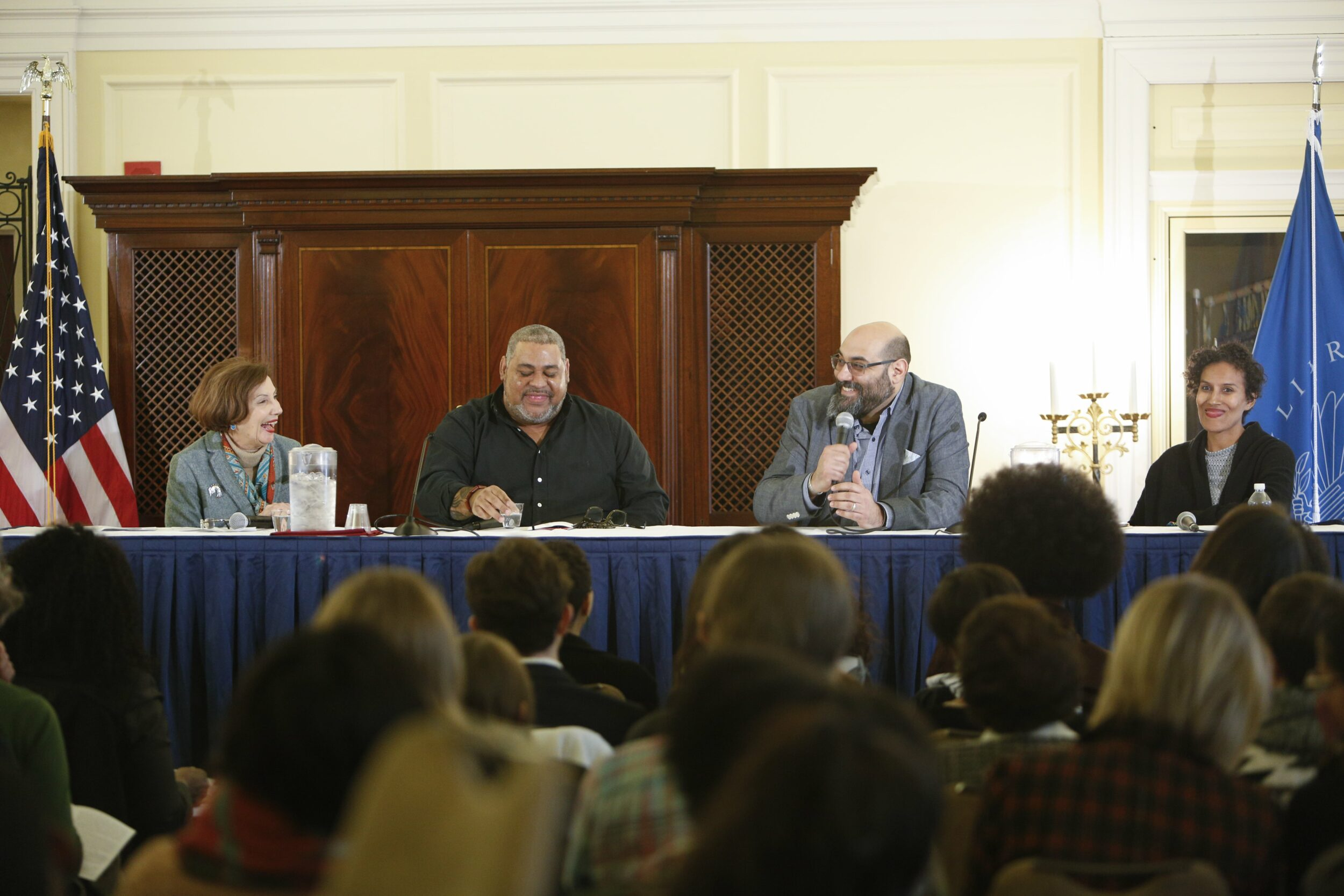 Library of Congress Symposium panel